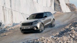 Il debutto di Range Rover Velar