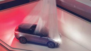 Range Rover Velar in anteprima al Fuorisalone di Milano
