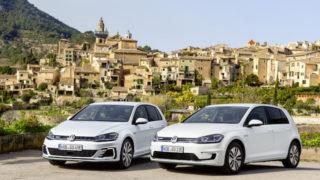 """Volkswagen e-Golf e Golf GTE: le auto che """"vedono e prevedono"""""""