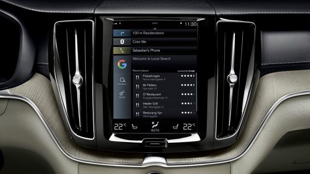Android Auto si integra all'infotainment di Volvo e Audi