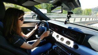 Milano-Stoccarda con Mercedes Classe E