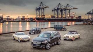 I 90 anni di Volvo, che sarebbero 93, al Parco del Valentino