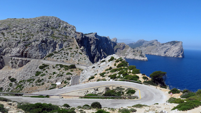 Cap de Formentor: the meeting point of the winds