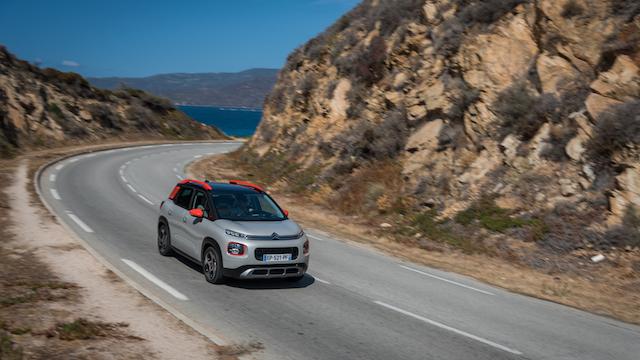 Citroën C3 Aircross, la prova in Corsica