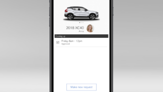 The New Volvo XC40 - Volvo On Call car sharing guest - upcoming bookings