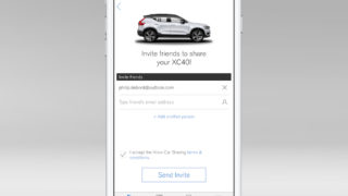 The New Volvo XC40 - Volvo On Call car sharing owner