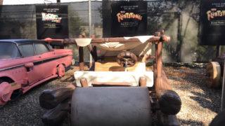 flintstone's car
