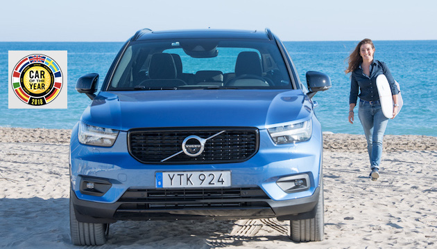 Car of the Year 2018: the winner is Volvo XC40