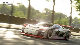 Per l'e-prix di Roma Audi tira fuori l'e-tron Vision Gran Turismo dalla Play Station!