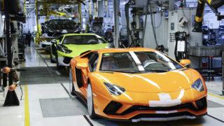 Lamborghini: alla scoperta della fabbrica di Huracán e Aventador