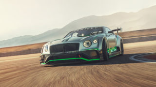 Bentley Continental GT3 - dynamic