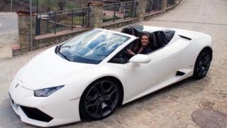 Lamborghini Huracán Spyder: bolide a cielo aperto
