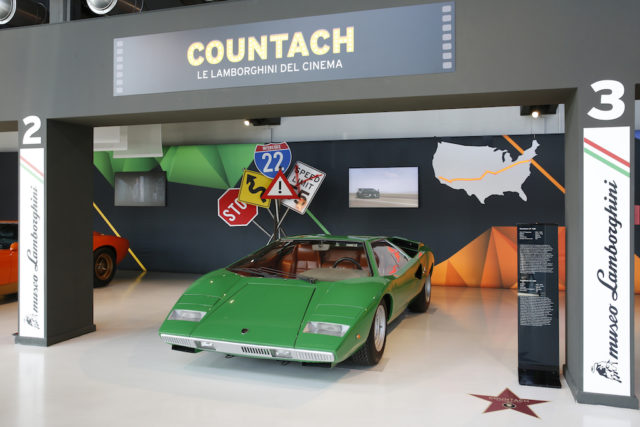Lamborghini Countach - The Cannonball Run