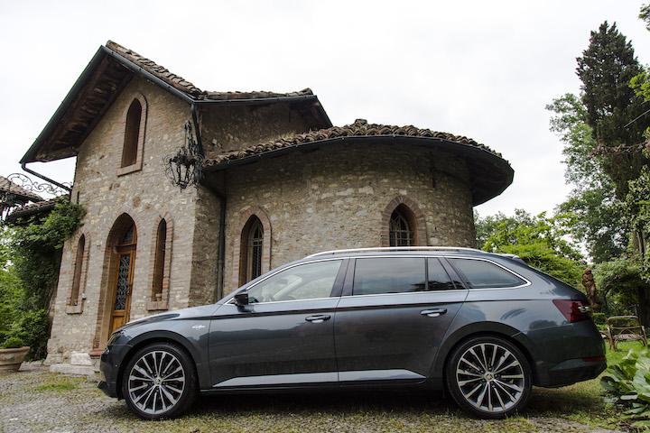 Škoda Superb: la boema Superb-a nella sicurezza