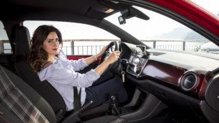 """""""Mostro sacro"""" e tacchi a spillo: Volkswagen UP! GTI"""