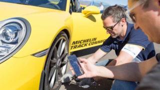 Michelin Track Connect: tutte le info delle gomme in un'app