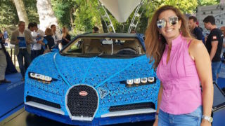 LEGO Technic Bugatti Chiron: un'opera d'arte a grandezza reale che si guida davvero!