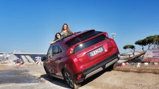 Mitsubishi Eclipse Cross, al Carrara 4×4 Fest con stile