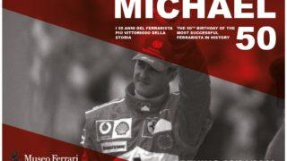 Michael Schumacher compie 50 anni: una mostra e un'app per celebrarlo