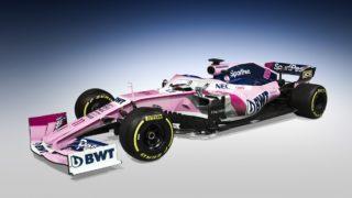 "SportPesa Racing Point F1: l'auto rosa e blu ""canadese inside"""