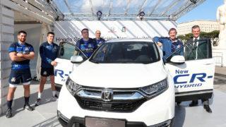 Honda e Rugby: come si scaldano i muscoli in campo