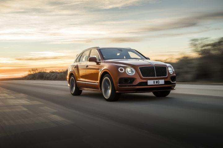 Bentley Bentayga Speed, il nuovo suv più veloce al mondo