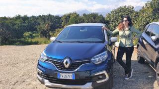 In Sicilia con Renault Captur: il suv straniero più amato delle donne italiane
