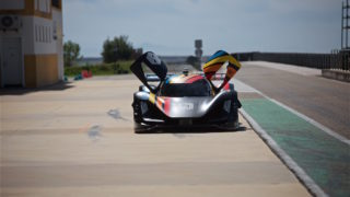 The first round of Season Alpha, the Roborace championship for autonomous vehicles, held at the Monteblanco race track in Andalucia, Spain
