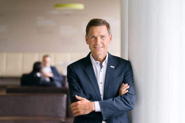Christoph Kübel, Geschäftsführer und Arbeitsdirektor der Robert Bosch GmbH am 5.9.2017 in Gerlingen-Schillerhöhe