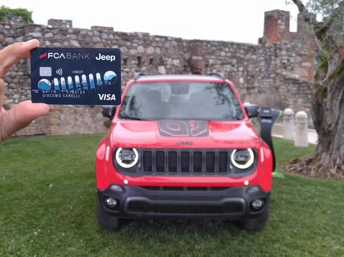 Jeep credit card, banca di vantaggi