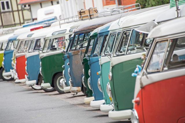 7th International Volkswagen Veteran Meeting in Hessisch Oldendo