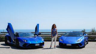 Due Lamborghini sulle tracce di Valentino Rossi…