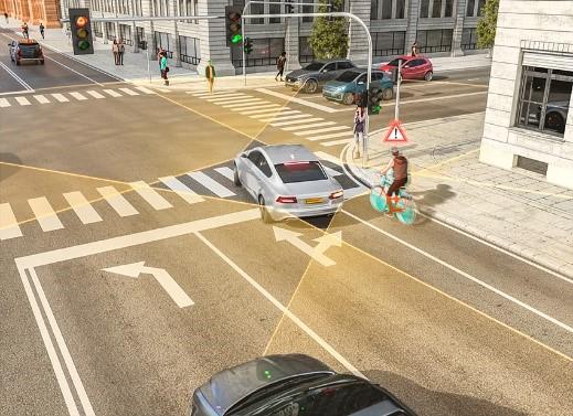 Arriva il Right-Turn Assist di Continental: il nuovo radar per salvare pedoni e ciclisti