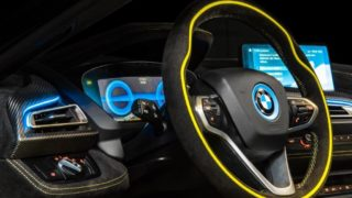 Alcantara e BMW i8 Roadster LimeLight Edition (8)