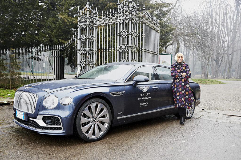 Bentley con Chiara Boni per il progetto Smile for Italy
