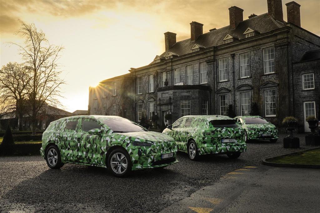 Skoda Enyaq iV: il nuovo SUV 100% elettrico arriva all'inizio del 2021