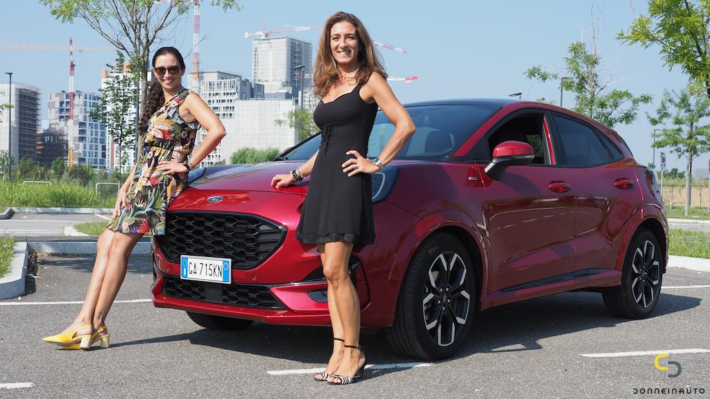 Ford Puma, a tu per tu con l'ibrida più venduta in Italia*