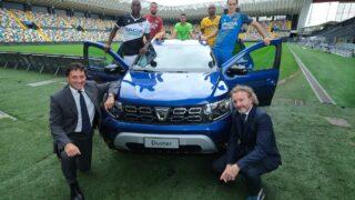 """Dacia e Udinese, in campo la prima maglia """"green"""" nella storia del campionato"""