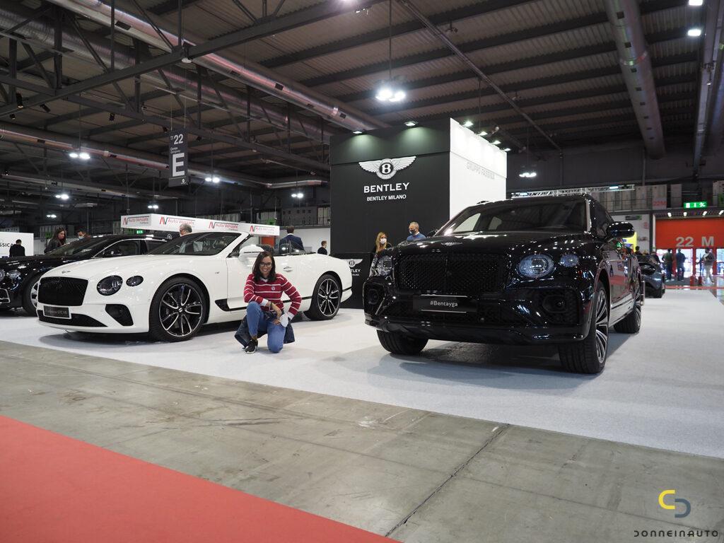 Bentley Continental GT V8 Convertible e Nuova Bentayga