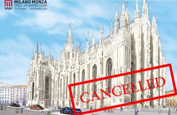 Il Milano Monza Open-Air Motorshow 2020 è rimandato alla primavera dell'anno prossimo