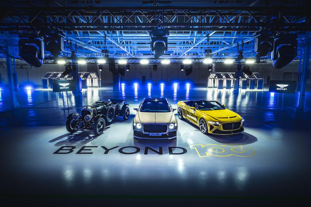 Beyond100, il piano di Bentley tutto green