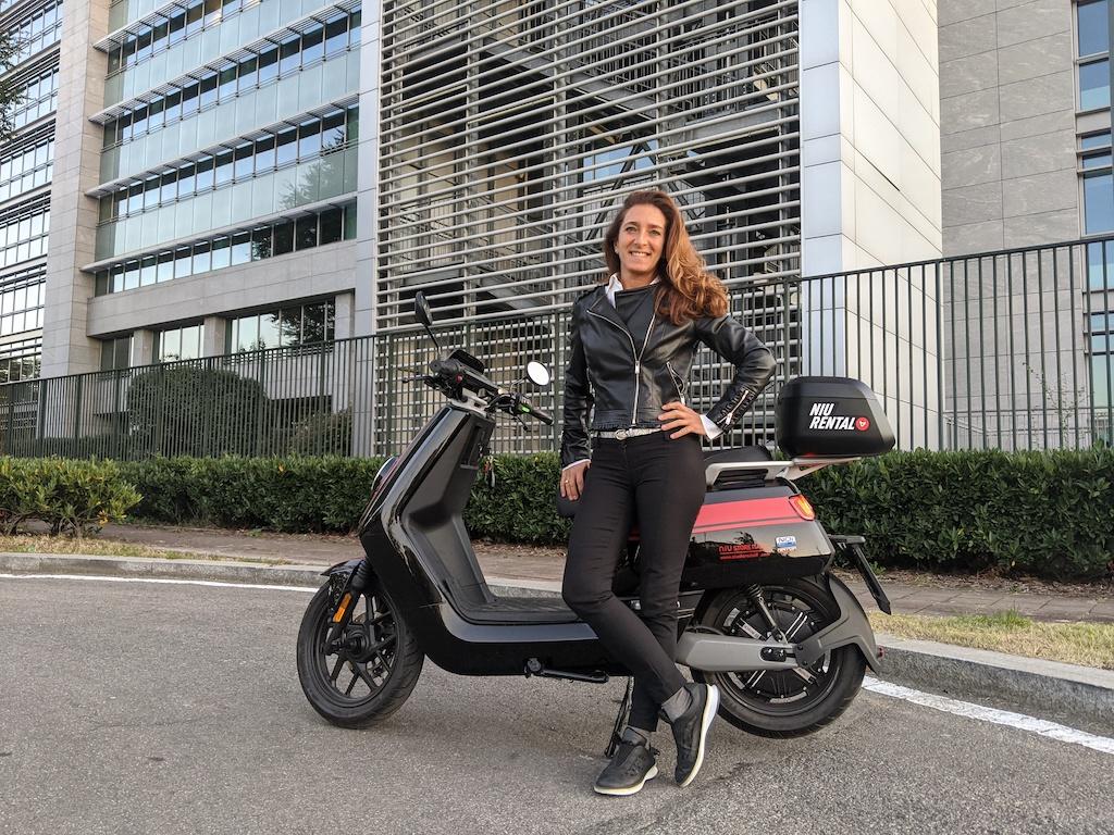 Niu NQi GTS Sport, lo scooter 100% elettrico che quando si guida…sembra di sciare!