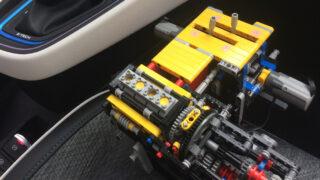 Un motore ibrido nato dai Lego