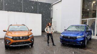 Dacia Sandero, da low cost a smart buy. Ecco la nostra prova sotto la neve!
