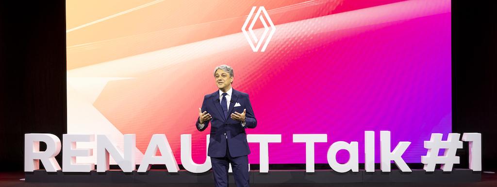 Il futuro di Renault: nuovo logo, tanti ibridi e arriva la Mégane elettrica