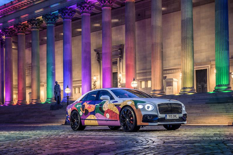 Bentley Unifying Spur, l'opera d'arte che celebra diversità e inclusione