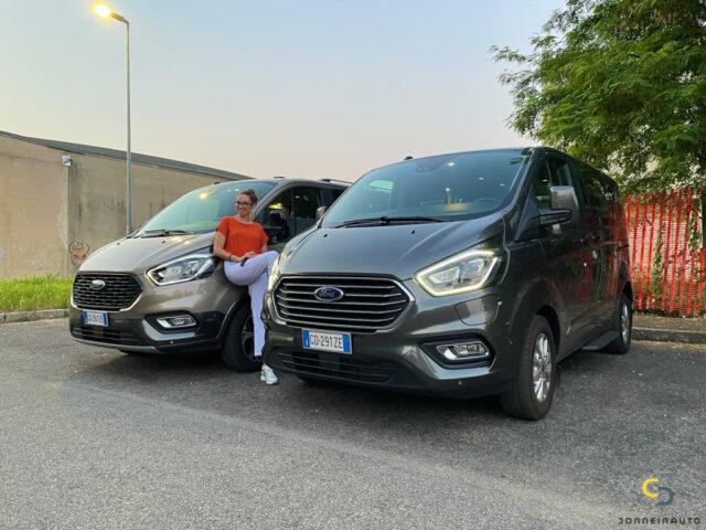 Ford Tourneo Custom Active: dal lavoro all'avventura…è un attimo