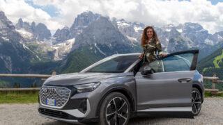 Con Audi Q4 e-tron a spasso nel Parco Adamello Brenta