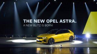 Nuova Opel Astra: per la prima volta elettrificata